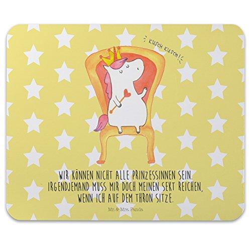 Preisvergleich Produktbild Mr. & Mrs. Panda Mauspad Druck Einhorn König - 100% handmade in Norddeutschland - Einhorn, Unicorn, König, Prosecco, Präsident, Bundeskanzler, Herrscher, Kaiser, Prinzessin, Krone Mouse Pad, Mousepad, Computer, PC, Männer, Mauspad, Maus, Geschenk, Druck, Schenken, Motiv, Arbeitszimmer, Arbeit, Büro Einhorn, Unicorn, König, Prosecco, Präsident, Bundeskanzler, Herrscher, Kaiser, Prinzessin, Krone