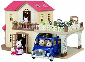 Sylvanian Families Maple Manor with Carport Playset