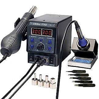 italtronik– Estación de soldadura YIHUA 87862en 1, de aire caliente, con lápiz de soldadura