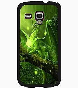 ColourCraft Dragon Design Back Case Cover for SAMSUNG GALAXY S3 MINI I8190