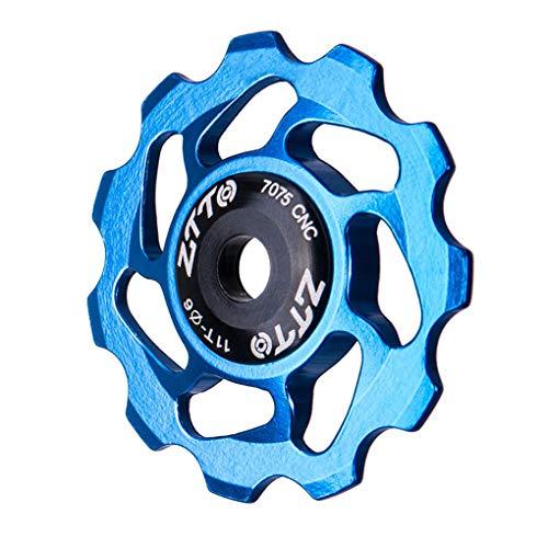 Fgyhty MTB Fahrrad Schaltwerk Leitrad Ceramic Bearing Pulley Rennrad Bike Guide Roller -