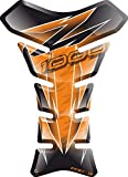 Motorrad Gas Displayschutzfolie Aufkleber/3D Gummi Fuel Tank Pad Tankpad Displayschutzfolie Aufkleber für Kawasaki Z1000 Z 1000 (Orange)