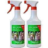 Abacus Nell Ultra 2x 750ml botella de aerosol Eliminador de algas, Grab piedra Cuidado, Verde belagsent Ferner, hongos y Liquen Eliminador, listo para usar