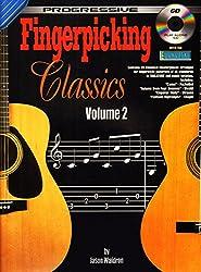 Fingerpicking Classics Vol. 2 Bk/CD (Progressive)