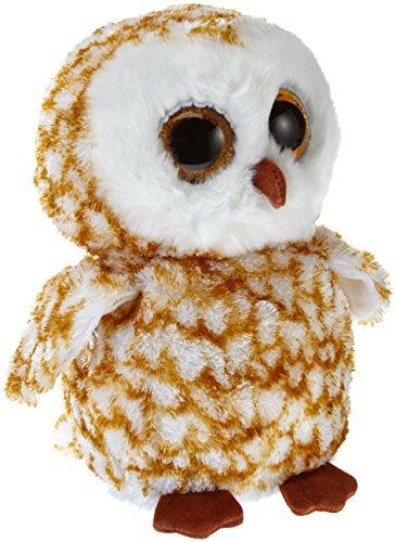 48d823e89ac Ty Beanie Boos Buddies Swoops Brown Barn Owl Medium Plush by Ty Beanie Boos  Buddies