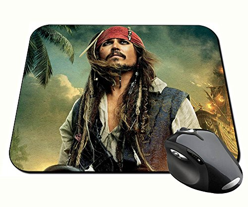 Preisvergleich Produktbild Fluch der Karibik Pirates of the Caribbean Jack Sparrow Johnny Depp A Badteppich Mousepad PC