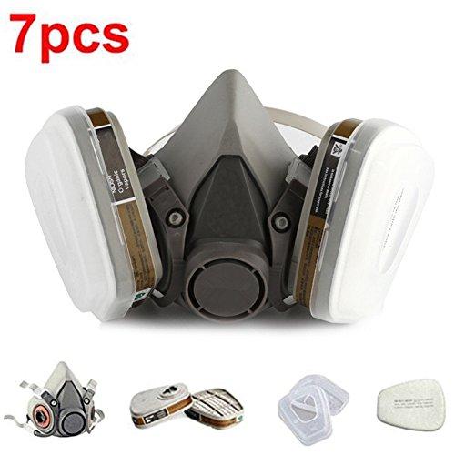 finlon Lack Spray Atemschutzmaske Half Maskenkörper Atemschutzmaske Farbe anti-pesticide Formaldehyd Gas Masks Organic Vapor Pestizid chemischen Aktivkohle Atemschutzmaske
