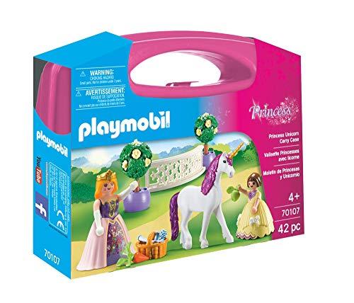 Playmobil- Maletín Grande Princesas Unicornio