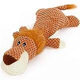 Devekop Hoopet Pet Spielzeug Tierform Löwe Elefant Sound kauen Drei Farben Interaktives Spielzeug