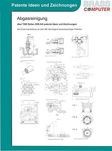 Abgasreinigung, über 7000 Seiten (DIN A4) patente Ideen und Zeichnungen