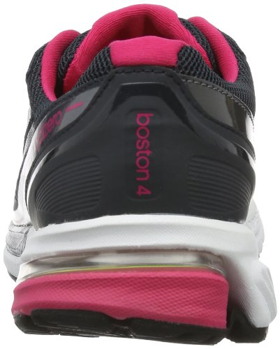 adidas Adizero Boston 4 W D65771 Damen Laufschuhe Schwarz (Night Shade F13 / Tech Grey Met. S14 / Vivid Berry S14)
