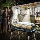 iMage 2X Luce della Griglia Durevole Resistente agli Agenti Atmosferici LED Luce per Barbecue con Base Magnetica Collo D'Oca Flessibile da 360 Gradi- Bianco Caldo