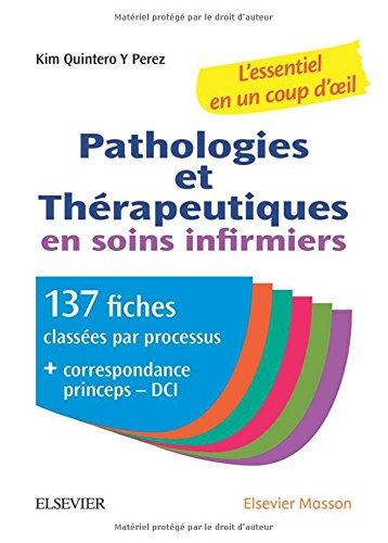 Pathologies et pharmacologie en un coup d'oeil par Collectif