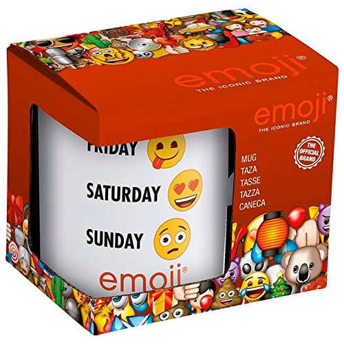 Emoji Tazza di ceramica Settimana