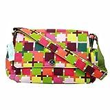 Baby Checks Pattern Diaper Bag