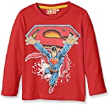 DC Comics Boy's Super Superman Long Sleeve T-Shirt