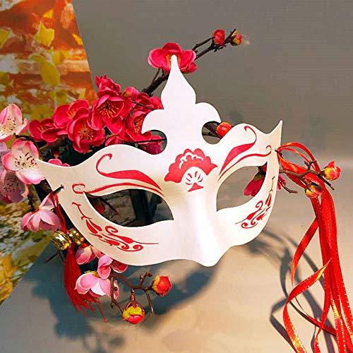 Tanz Fox Kostüm - EP-Toy Halloween Cosplay Kostüm Maske, Fox Monster Animal Pulp Mask, für Mädchen Party Festival Requisiten (7 STÜCKE)
