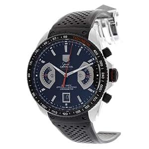Tag Heuer Cav511C.ft6016–Montre de Poignet pour homme, bracelet en caoutchouc