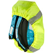 Schulranzen-Schutzhülle Regenhaube mit Reflektorstreifen 25 x 50 x 20 cm