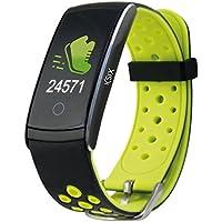 Ksix Fitness Band HR2 - Pulsera Deportiva con Monitorización Completa de la Actividad Física, ...