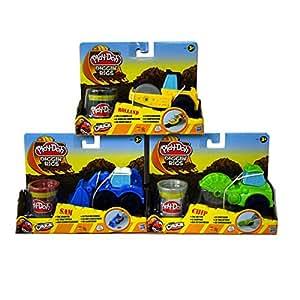 "Padgett Bros 49492 ""Play Doh Digging Rigs Construction Set (Set of 3)"