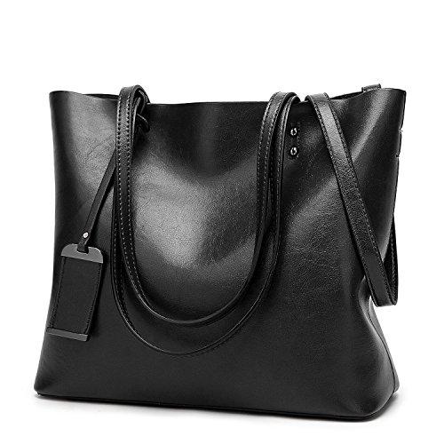 ALARION Damen Handtaschen Schultertasche große Tote Shopper Taschen Henkeltasche Umhängetasche Schulterbeutel (Michael Kors Tote Handtaschen Billig)