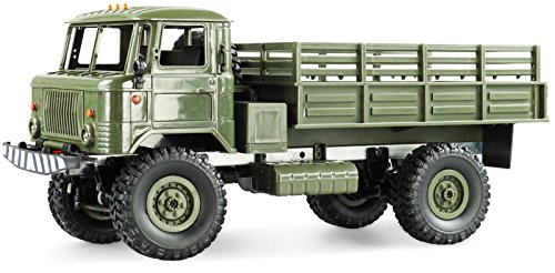 Amewi 22324 GAZ 66 camion 4 WD 1: 16 RTR veicolo, Verde