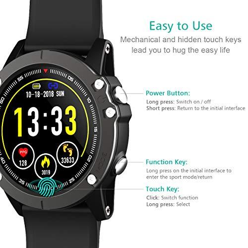 Zoom IMG-1 holyhigh smartwatch orologio cardiofrequenzimetro da