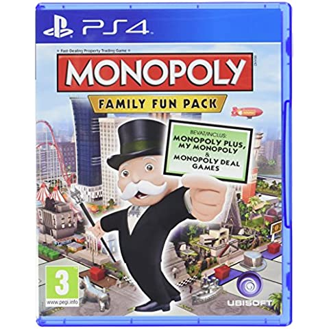 Monopoly Family Fun Pack [Importación Francesa]