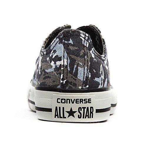 Converse Chuck Taylor All Star Wash Neon Ox, Baskets mode mixte enfant Charbon De Bois