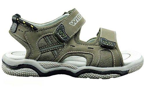 Kinder Outdoor Trekking Sandalen Schuhe WI 42-018 Khaki