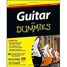 Guitar For Dummies by Phillips, Mark, Chappell, Jon (2012) Paperback
