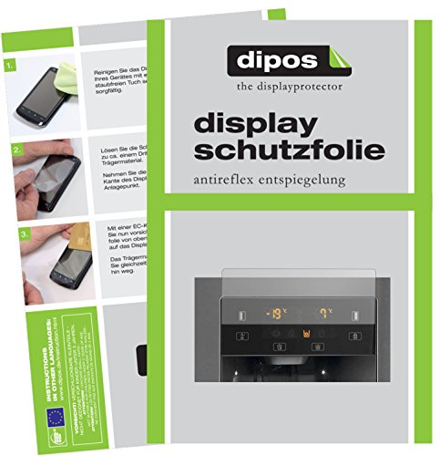 dipos I 2X Schutzfolie matt passend für Gorenje NRS 9182 CXB Folie Displayschutzfolie