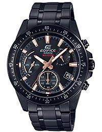 Casio Edifice Bracelet de Montre pour Homme en Acier Inoxydable Noir  Efv-540dc-1bvuef 20894d7aaccf