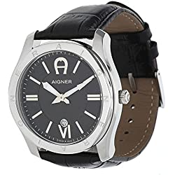 Aigner Men Watch Lazio black A42117