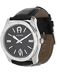 amazon co uk aigner watches aigner men watch lazio black a42117