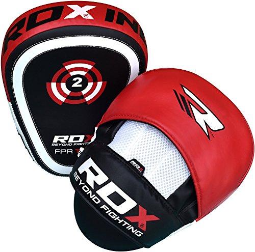 RDX Pattes D'ours Boxe MMA Entraînement Thai Bouclier Courbe Paos De Frappe Cible Pads