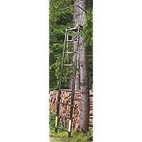 Fritz Muñeco telescópico–Trona (2,60m Handtuchhalter–Algodón–Trona (Cazador Caza Asiento Escalera hochstand