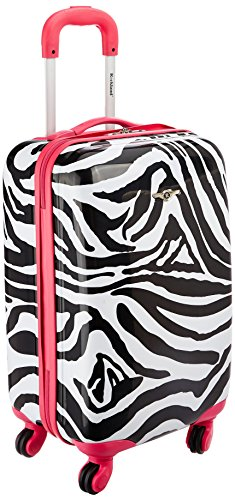 rockland-luggage-20-inch-carry-on-skin-pink-zebra-medium