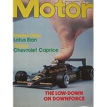 Motor magazine 24/2/1979 featuring Lotus Elan, Chevrolet Caprice road test