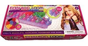 Fashion Loom Making Kit - 700 Multi Color Rubber Bands - 30 S Clips and 4 Mm Hook