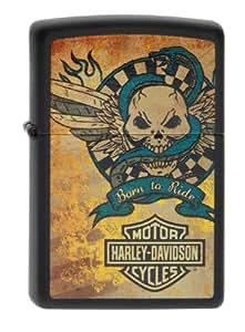 Zippo Briquet Harley Davidson Born to Ride Collection 2014