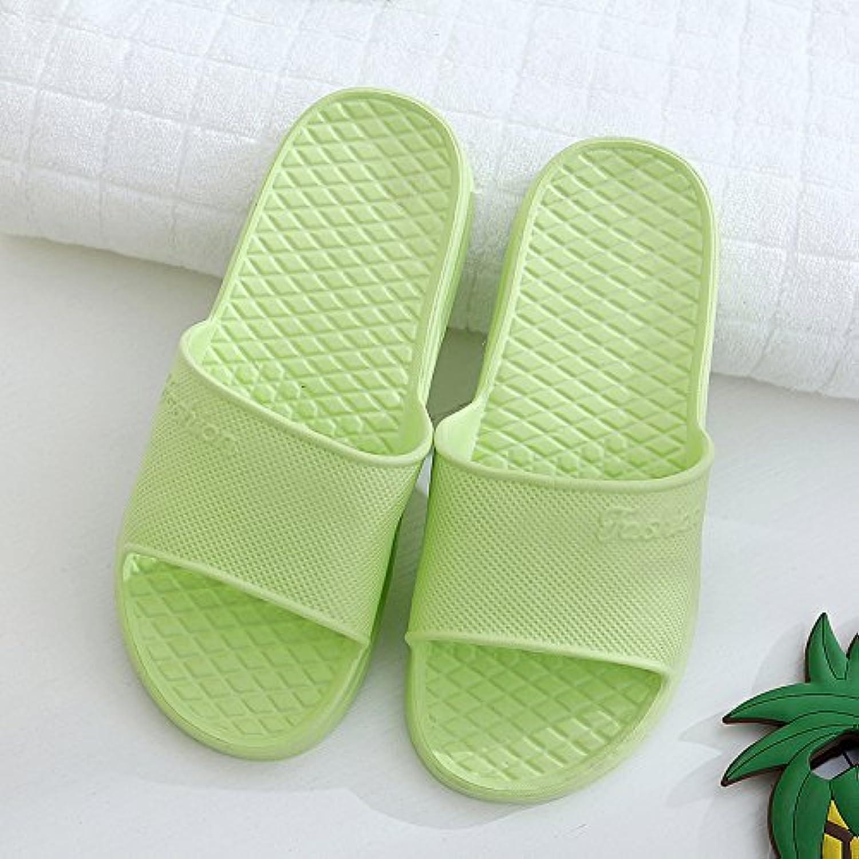 BAOZIV587 - Zapatillas de baño de espuma para el hogar, al aire libre, verano, interior y casa, para baño, zapatillas...