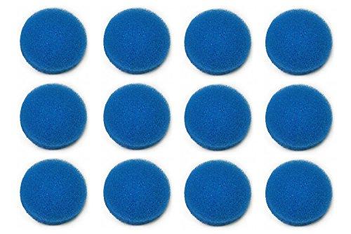 LTWHOME Bleu Grossier Mousseux Média Filtration Tapis Convient pour Eheim Ecco Pro 130/200/300 Ecco 2232/2234/2236 (Paquet DE 12)
