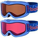 Bolle Amp Ski Goggles, Blue Monster (3-8 years)