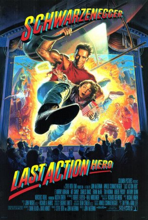 Affiche 'Last Action Hero', Taille: 69 x 102 cm