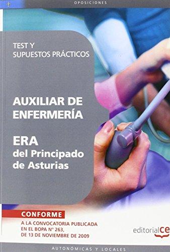 Auxiliar de Enfermería ERA del Principado de Asturias. Test y Supuestos Prácticos (Colección 253) por Sin datos
