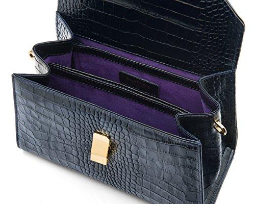 SageBrown , Mocassins pour femme Purple Croc