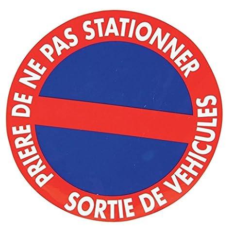 Panneau stationnement interdit diamètre 195