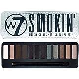 W7  15.6 g Smokin' Shades Eye Colour Palette - 12-Piece